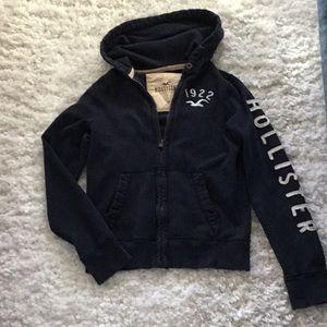 Men's Hollister size medium zip up hoodie.